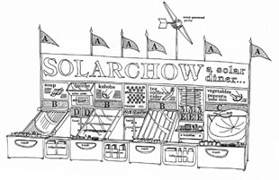 SolarChow Solar Diner