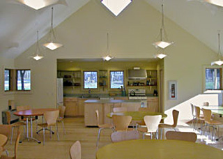 Ten Stones Community Building - interior